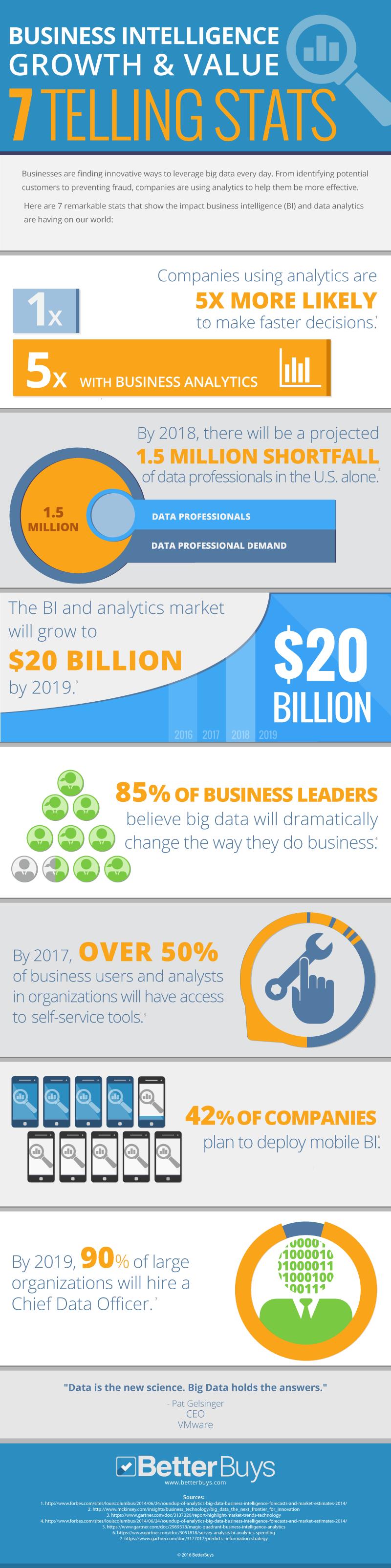 BI Stats Infographic