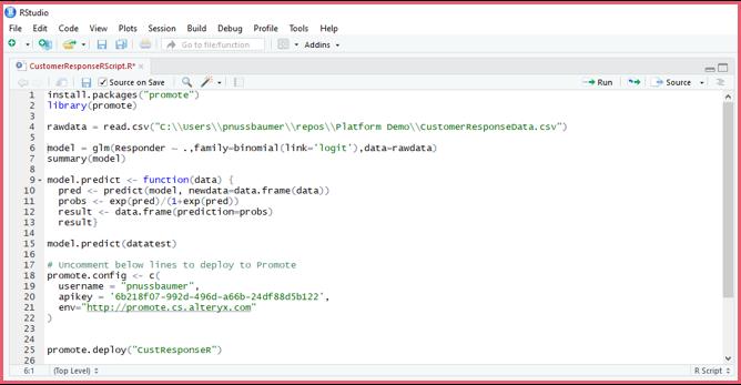 Alteryx Screenshot 3